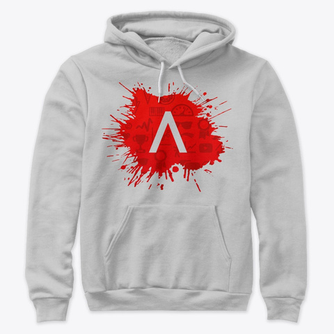 Amir Hadžić Shop Athletic Heather Sweatshirt Front