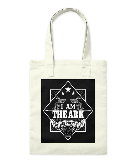 I Am The Ark Of His Presence Natural T-Shirt Front