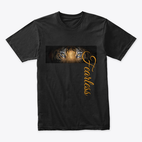 Fearless Tee Black T-Shirt Front
