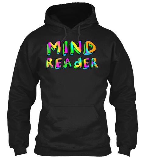 Mind Reader Black T-Shirt Front