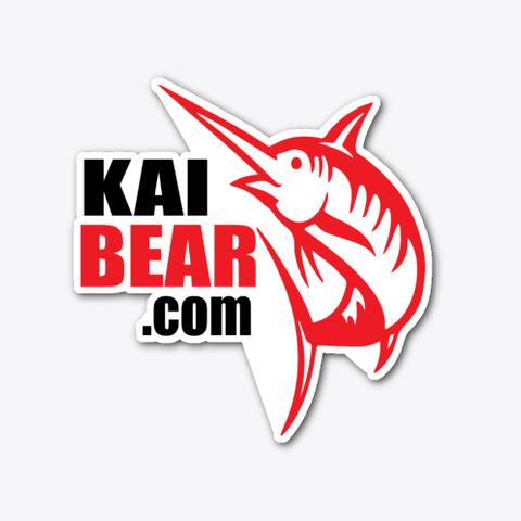 Kai Bear.Com Logo Gear Standard T-Shirt Front