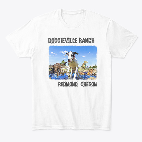 Dv Oregon White T-Shirt Front