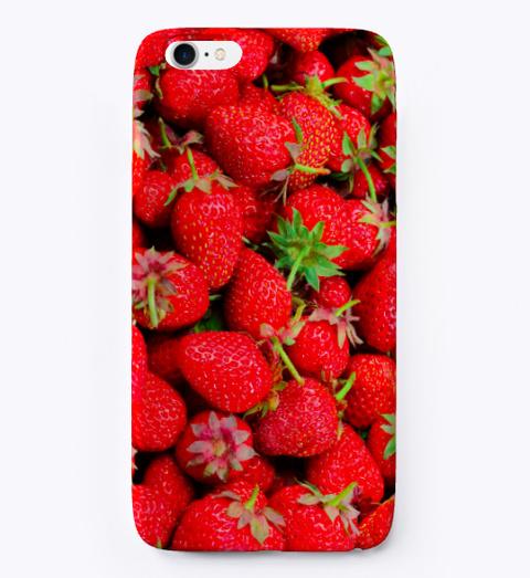 Strawberry Life Standard Camiseta Front