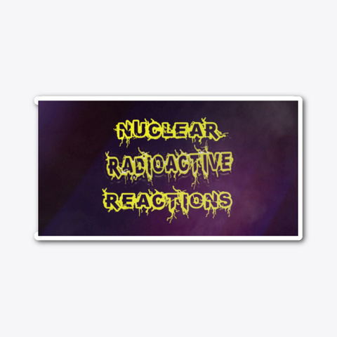 Radioactive Intro Sticker Standard T-Shirt Front