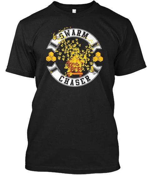 Swarm Chaser Black T-Shirt Front