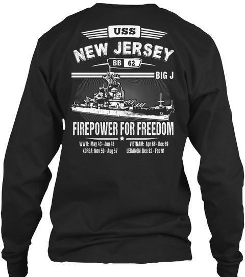 [Ltd. EDITION] USS NEW JERSEY TSHIRT SweatShirt