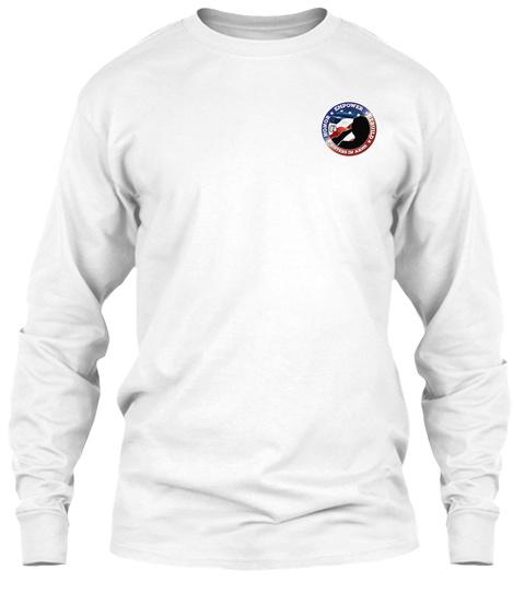 Helping Homeless Women Veterans Nw Fl White Long Sleeve T-Shirt Front