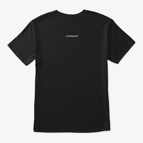 Great Dane 2 Black T-Shirt Back