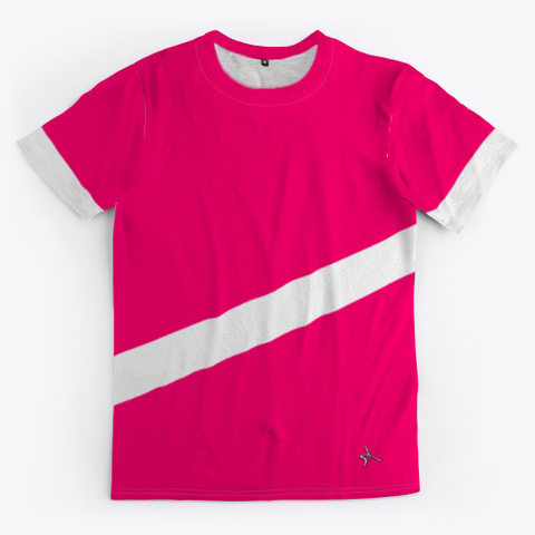 Antoine Maurice King Red Stripe Tee Standard T-Shirt Front