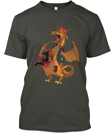 Panther Me! Smoke Gray T-Shirt Front