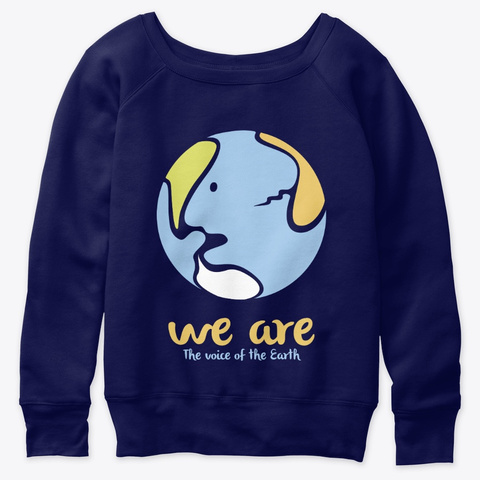 We Are Navy  T-Shirt Front
