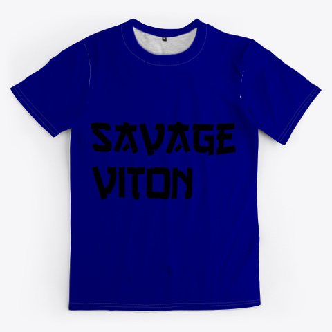 Savage Viton Deep Navy T-Shirt Front