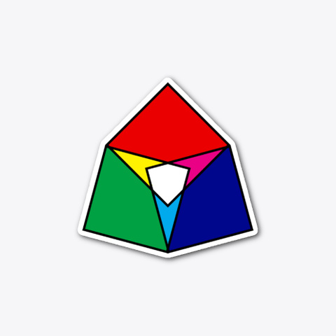 Square Venn (Sticker) Standard T-Shirt Front