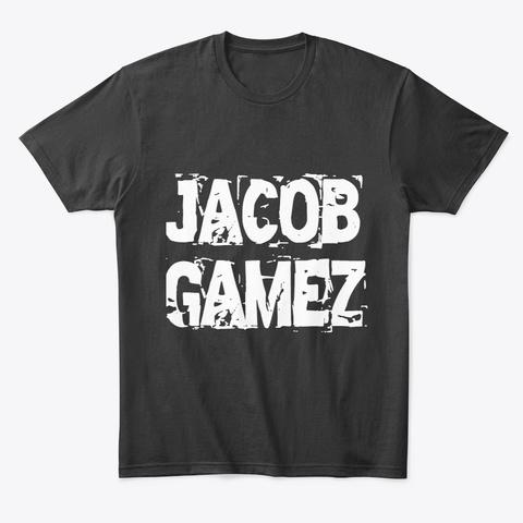 Jacob Gamez Black T-Shirt Front
