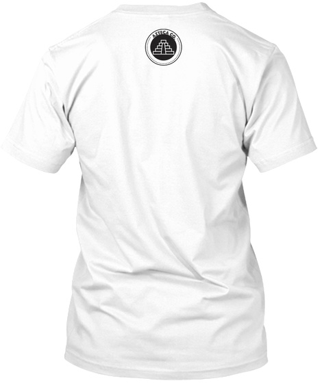 Azteca Co White T-Shirt Back