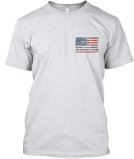 Home Of The Free Ash T-Shirt Front