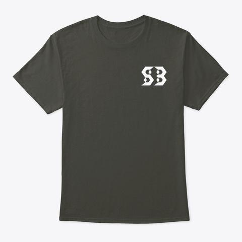 Sometimes Baseball  Smoke Gray T-Shirt Front