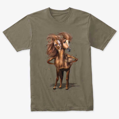 Gamigin The Great Marquis Venetian Gray T-Shirt Front