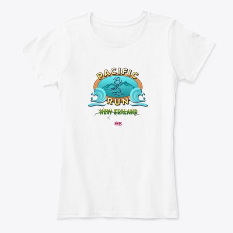 Nancy Drew: Pacific Run  White T-Shirt Front