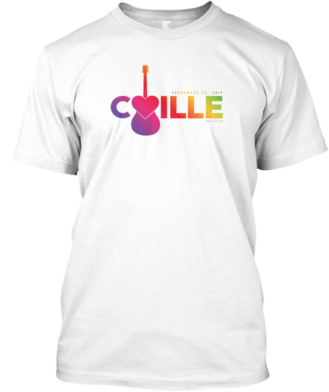 Cille White T-Shirt Front