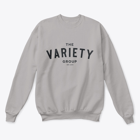 The Variety Group Light Steel  T-Shirt Front