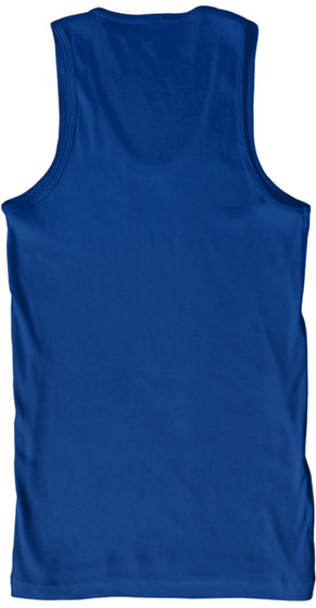 Tank Top Bronx New York City White True Royal T-Shirt Back