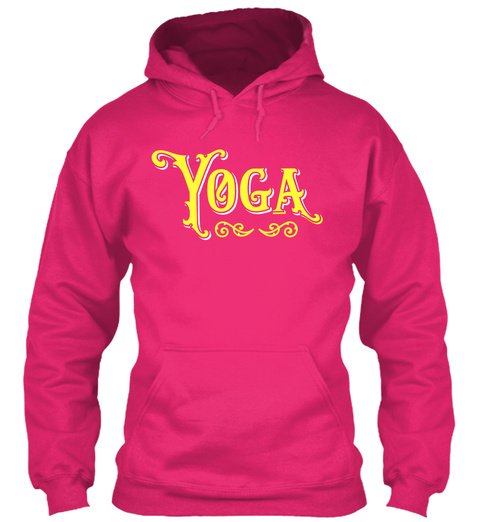 Yoga Heliconia T-Shirt Front