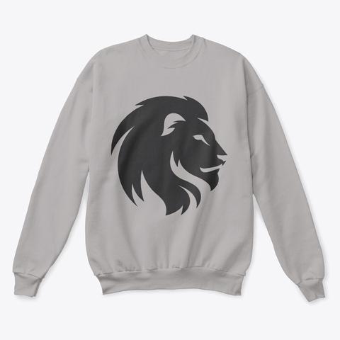 New Hooddies 2019 All Coloers Lion Art Light Steel  T-Shirt Front