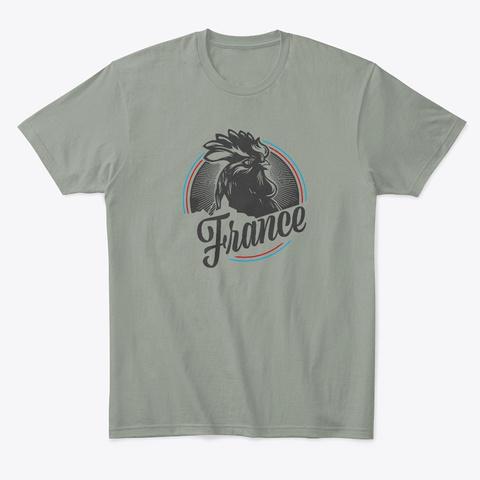 Coq De France Grey T-Shirt Front