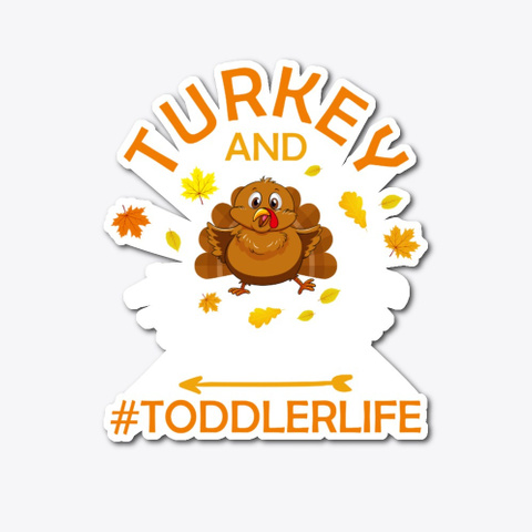 Funny Thanksgiving Day Turkey And Tantru Standard T-Shirt Front