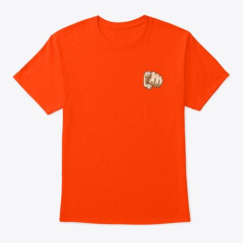 Áo Thun Cà Khịa Cực Chất Orange T-Shirt Front