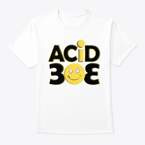 Acid   303 Collection White T-Shirt Front
