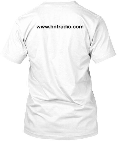 Www.Hntradio.Com White T-Shirt Back