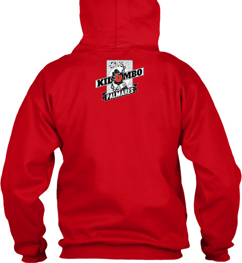 Kilombo Palmers Red T-Shirt Back