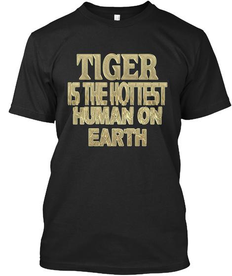Tiger Hottest / Tiger Sensationnel Black T-Shirt Front