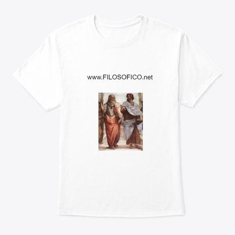 I Prodotti Di Filosofico.Net White T-Shirt Front