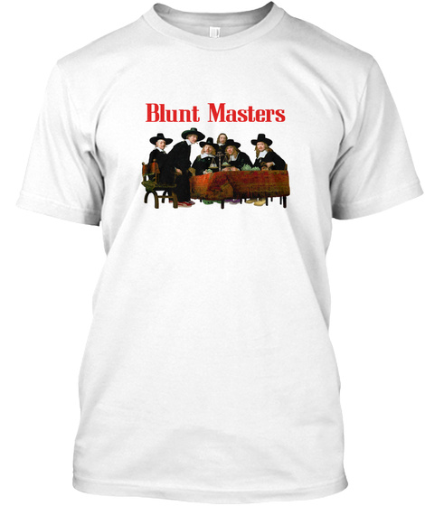 Blunt Master White T-Shirt Front