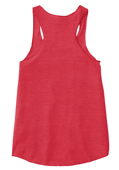 """Just Keep Blogging"" Women's Tank Eco True Red  T-Shirt Back"