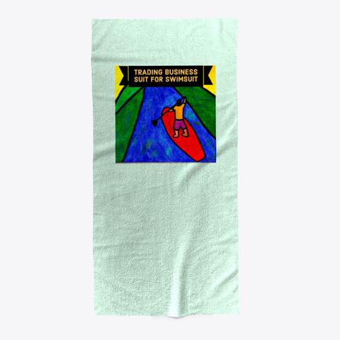 Business Suit For Swimsuit Mint T-Shirt Front