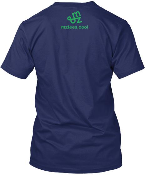 Battery Tetris Midnight Navy T-Shirt Back