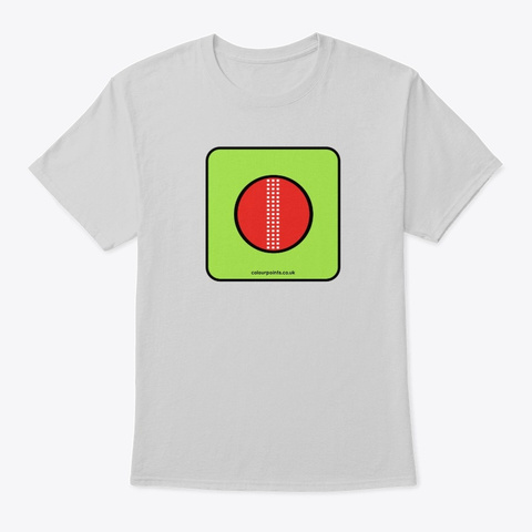 Dorking T Shirt By Colour Points Light Steel T-Shirt Front