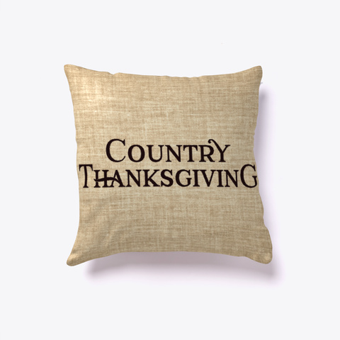 Country Thanksgiving Pillow Standard T-Shirt Front