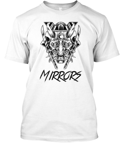 Official Mirrors Merch White Camiseta Front