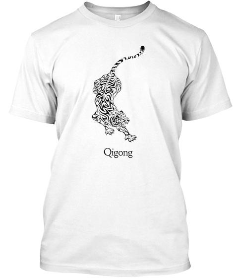 Qigong White T-Shirt Front