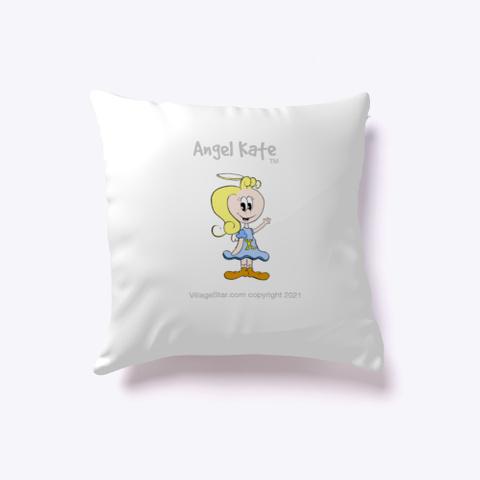 Cute Angel Kate  Pillow Standard T-Shirt Front