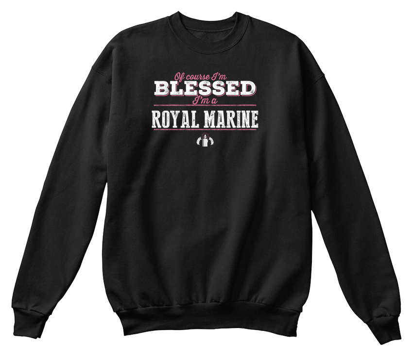 Sweat Royal béni shirt suis sûr Marine confortable je Bien zrw7q6rcSY