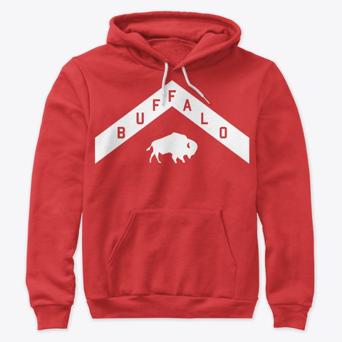 North Buffalo Red T-Shirt Front