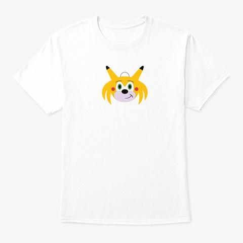 Sonichu   Medallion Tshirt White T-Shirt Front
