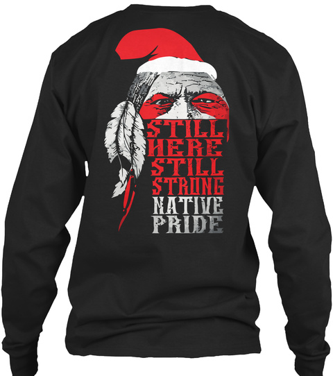 native american christmas shirts