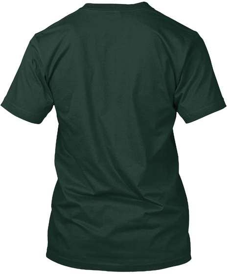 Bls   S Oldier Of God's Army Forest Green T-Shirt Back